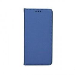 Smart Magnet Samsung A72 Handytasche Blau + Visitenkartenfach