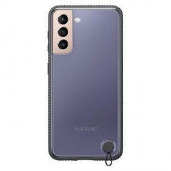 Original Samsung EF-GG996CB S21+ Plus G996 schwarz Clear Protective Cover