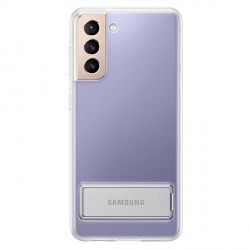 Original Samsung EF-JG991CT S21 G991 Transparent Clear Standing Cover