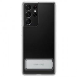 Original Samsung EF-JG998CT S21 Ultra G998 Transparent Clear Standing Cover