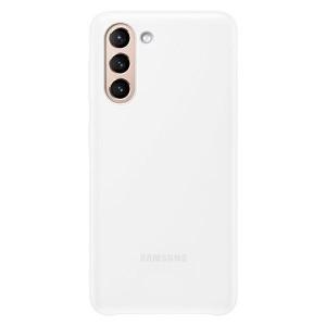 Original Samsung EF-KG991CW S21 G991 weiß LED Cover