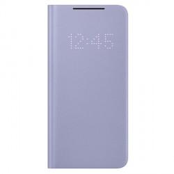 Original Samsung EF-NG991PV S21 G991 violet LED View Cover