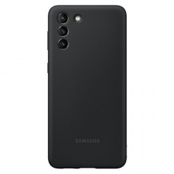Original Samsung EF-PG996TB S21+ Plus G996 schwarz Silicone Cover