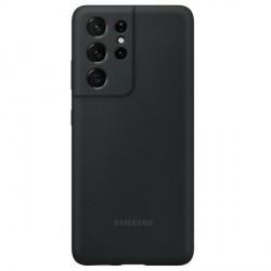 Original Samsung EF-PG998TB S21 Ultra G998 schwarz Silicone Cover