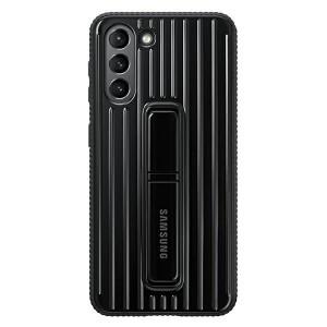 Original Samsung EF-RG991CB S21 G991 schwarz Protective Standing Cover