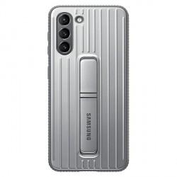 Original Samsung EF-RG991CJ S21 G991 silber Protective Standing Cover