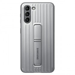 Original Samsung EF-RG996CJ S21+ Plus G996 silber Protective Standing Cover