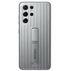 Original Samsung EF-RG998CJ S21 Ultra G998 silber Protective Standing Cover