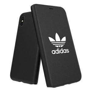 Adidas OR Booklet Case BASIC iPhone Xs / X black white