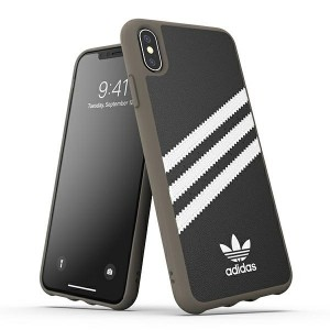 Adidas iPhone Xs / X OR Moulded Case / Cover / Hülle schwarz / weiß