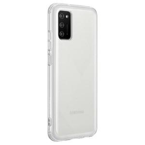 Original Samsung EF-QA026TT A02s Soft Clear Cover Transparent