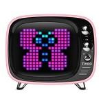 Divoom Tivoo Smart Pixel Bluetooth speaker Princess Pink