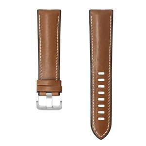 Original Samsung Armband 22mm Kalbsleder Watch3 / Gear S3 braun GP-TYR840BRBAW