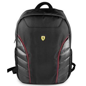 """Ferrari Laptop / Notebook Rucksack Scuderia 15,6"""" schwarz FESRBBPSIC15BK"""