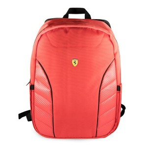 "Ferrari Laptop / Notebook Rucksack Scuderia 15,6"" rot FESRBBPSIC15RE"