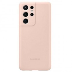 Original Samsung EF-PG998TP S21 Ultra G998 pink Silicone Cover