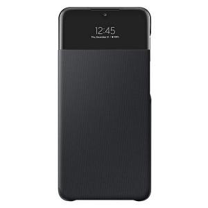 Original Samsung EF-EA326PB A32 5G S View Wallet Cover schwarz