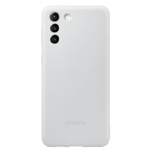 Original Samsung EF-PG996TJ S21+ Plus G996 grau Silicone Cover