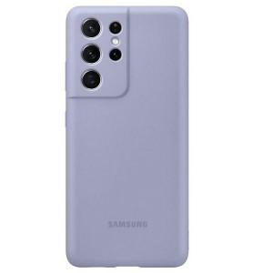 Original Samsung EF-PG998TV S21 Ultra G998 violet Silicone Cover