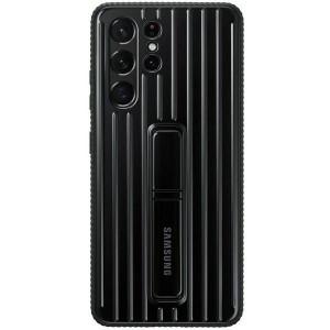 Original Samsung EF-RG998CB S21 Ultra G998 schwarz Protective Standing Cover