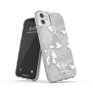 Adidas iPhone 11 OR Snap Case / Cover / Hülle Camo weiß