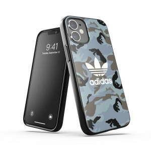 Adidas iPhone 12 mini OR Snap Case / Cover / Hülle Camo schwarz