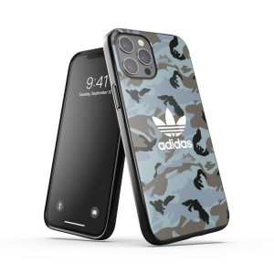 Adidas iPhone 12 Pro Max OR Snap Case / Cover / Hülle Camo schwarz