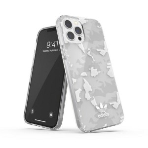 Adidas iPhone 12 Pro Max OR Snap Case / Cover / Hülle Camo weiß