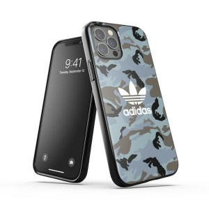 Adidas iPhone 12 / 12 Pro OR Snap Case / Cover / Hülle Camo schwarz
