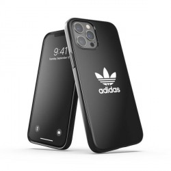 Adidas iPhone 12 Pro Max OR Snap Case / Cover / Hülle Trefoil schwarz