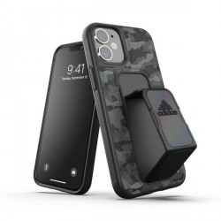 Adidas iPhone 12 mini SP Grip Case / Cover / Hülle CAMO schwarz