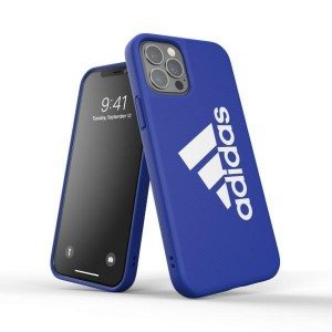 Adidas iPhone 12 / 12 Pro SP Iconic Sports Case / Cover / Hülle blau