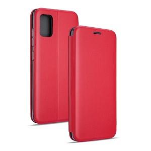 Beline Handytasche Samsung S21 Ultra Book Magnetic rot