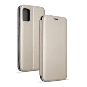 Beline Handytasche Samsung S21 Ultra Book Magnetic gold