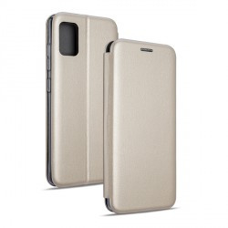 Beline Handytasche Samsung S21 Book Magnetic gold