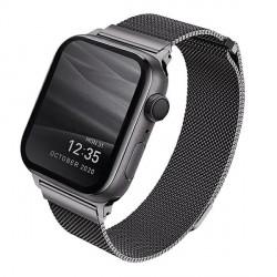 UNIQ Watch Armband Dante Apple 4 / 5 / 6 / SE 44mm Edelstahl graphite