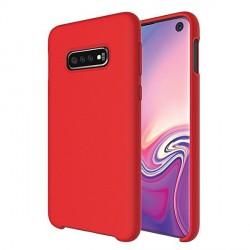 Premium Liquid Silicon Samsung A52 5G Case Cover Hülle rot