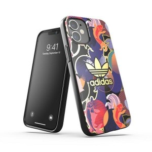 Adidas iPhone 12 mini OR Snap Case / Cover / Hülle AOP CNY colourful
