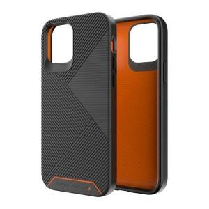 Gear4 iPhone 12 / 12 Pro D3O Battersea Case / Hülle / Cover schwarz