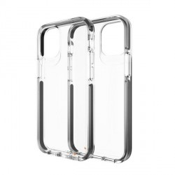 Gear4 iPhone 12 mini D3O Piccadilly Case / Hülle / Cover Transparent / schwarz