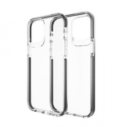 Gear4 iPhone 12 Pro Max D3O Piccadilly Case / Hülle / Cover Transparent / schwarz