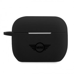 Mini AirPods Pro Silikon Schutzhülle schwarz MIACAPSLTBK