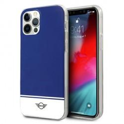 Mini iPhone 12 Pro Max Hülle / Case / Cover Stripe Blau MIHCP12LPCUBINA