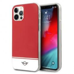 Mini iPhone 12 Pro Max Hülle / Case / Cover Stripe Rot MIHCP12LPCUBIRE