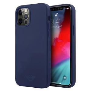 Mini iPhone 12 Pro Max Silikon Hülle / Case / Cover blau MIHCP12LSLTNA