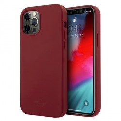 Mini iPhone 12 Pro Max Silikon Hülle / Case / Cover rot MIHCP12LSLTRE