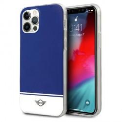 Mini iPhone 12 / 12 Pro Hülle / Case / Cover Stripe Blau MIHCP12MPCUBINA