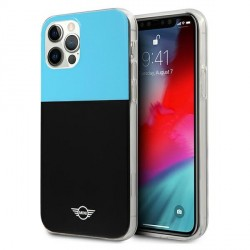 Mini iPhone 12 / 12 Pro Hülle / Case / Cover Block Schwarz / Blau MIHCP12MPCUCBLB