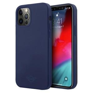 Mini iPhone 12 / 12 Pro Silikon Hülle / Case / Cover blau MIHCP12MSLTNA