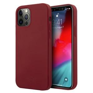 Mini iPhone 12 / 12 Pro Silikon Hülle / Case / Cover rot MIHCP12MSLTRE